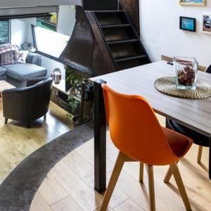 table haute modulable 750