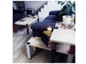 pieds de table salon